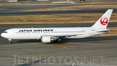 JA658J - Boeing 767-346(ER) - Japan Airlines (JAL)