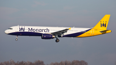 G-OJEG - Airbus A321-231 - Monarch Airlines