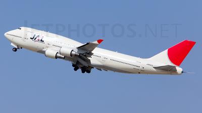 JA8922 - Boeing 747-446 - Japan Airlines (JAL)