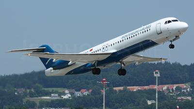 A picture of 4OAOK - Fokker 100 - [11272] - © Alexander Stamatiadis