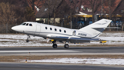 N189RB - Dassault Falcon 20F-5 - Private