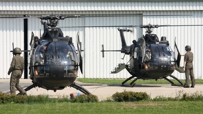 87-24 - MBB Bo105P1 - Germany - Army