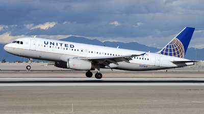N491UA - Airbus A320-232 - United Airlines