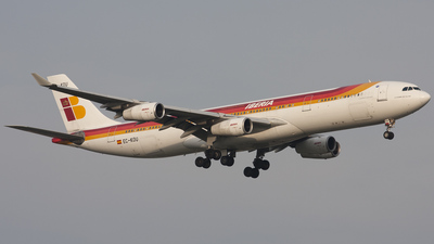 EC-KOU - Airbus A340-313 - Iberia