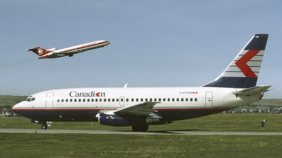 C-FCPM - Boeing 737-2T7(Adv) - Canadian Airlines International