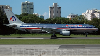 N7076A - Airbus A300B4-605R - American Airlines