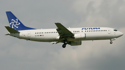EC-KGM - Boeing 737-4Y0 - Futura International Airways