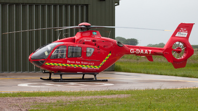 G-DAAT - Eurocopter EC 135T2 - Bond Air Services