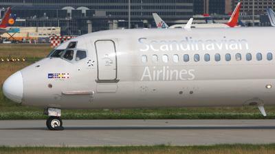 LN-ROS - McDonnell Douglas MD-82 - Scandinavian Airlines (SAS)
