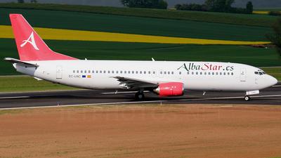 EC-LNC - Boeing 737-4K5 - AlbaStar