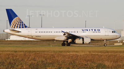 N421UA - Airbus A320-232 - United Airlines