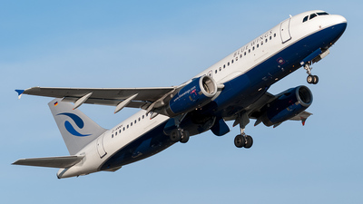 D-ANNH - Airbus A320-232 - Blue Wings