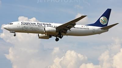 TC-MAO - Boeing 737-86N - KTHY Kibris Türk Hava Yollari