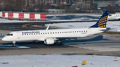 D-AEMC - Embraer 190-200LR - Augsburg Airways