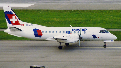 HB-AKI - Saab 340B - Crossair