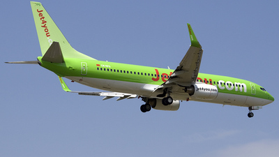 CN-RPG - Boeing 737-8K5 - Jet4You