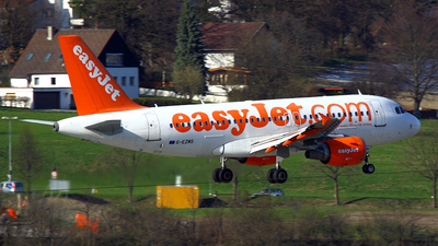 G-EZMS - Airbus A319-111 - easyJet