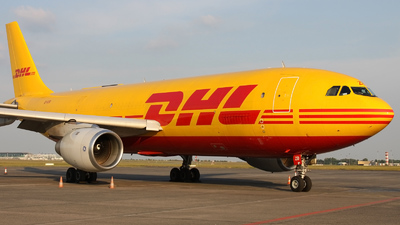 EI-OZB - Airbus A300B4-103(F) - DHL (Air Contractors)