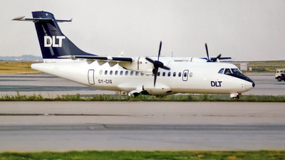 OY-CIG - ATR 42-300 - DLT (Cimber Air)