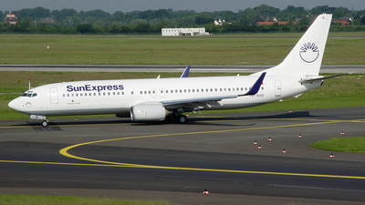 TC-SUG - Boeing 737-8CX - SunExpress
