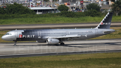 N587NK - Airbus A321-231 - Spirit Airlines