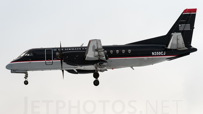 N350CJ - Saab 340B - US Airways Express (Colgan Air)