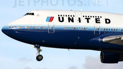 N173UA - Boeing 747-422 - United Airlines