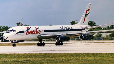N55FB - Douglas DC-8-55(F) - Fine Air