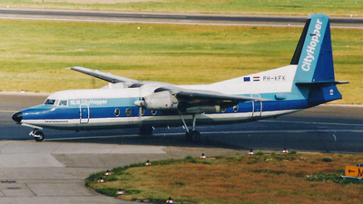 PH-KFK - Fokker F27-500 Friendship - NLM CityHopper