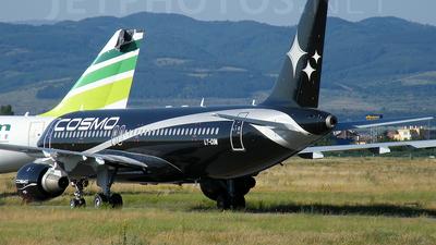 LY-COM - Airbus A320-212 - Cosmo Líneas Aéreas (Avion Express)