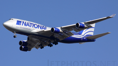 N949CA - Boeing 747-428(BCF) - National Airlines