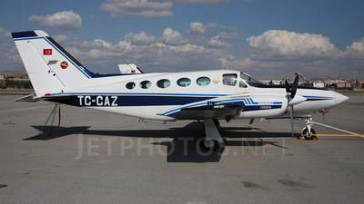TC-CAZ - Cessna 421C Golden Eagle - Turkey - Turkish Aeronautical Association
