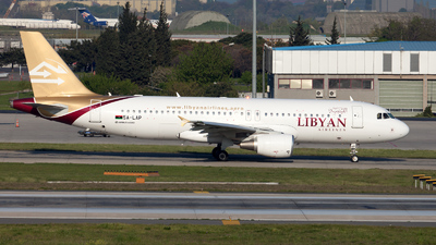 5A-LAP - Airbus A320-214 - Libyan Arab Airlines