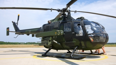 86-06 - MBB Bo105P1 - Germany - Army