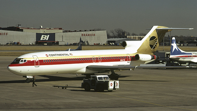 N66731 - Boeing 727-224(Adv) - Continental Airlines