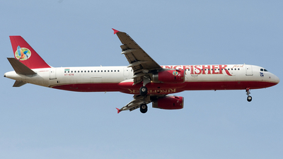 VT-KFN - Airbus A321-232 - Kingfisher Airlines