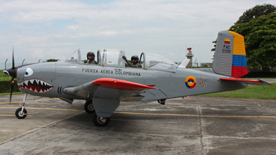 FAC2330 - Beechcraft T-34A Mentor - Colombia - Air Force
