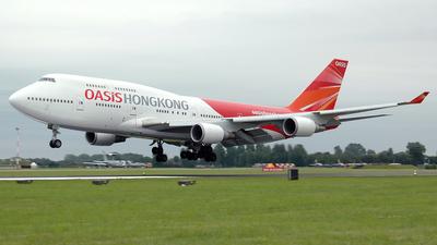 B-LFC - Boeing 747-481 - Oasis Hong Kong Airlines