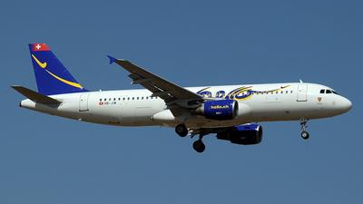 HB-JIW - Airbus A320-214 - Hello