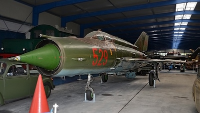 529 - Mikoyan-Gurevich MiG-21MF Fishbed J - German Democratic Republic - Air Force