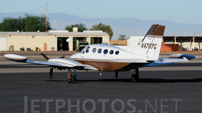 A picture of N4707G - Cessna 414 - [4140918] - © Agustin Anaya