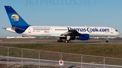 C-GJZX - Boeing 757-25F - Jazz Air