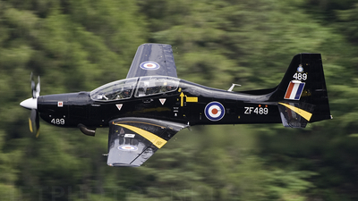 ZF489 - Short Tucano T.1 - United Kingdom - Royal Air Force (RAF)