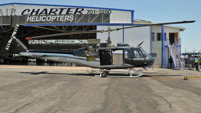 ZS-RXR - Bell 205A-1 - Private