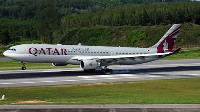 A7-AEG - Airbus A330-302 - Qatar Airways