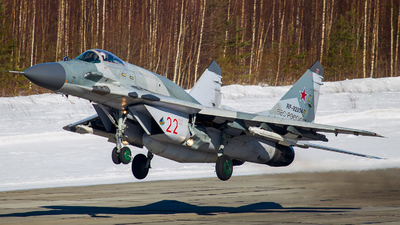RF-92934 - Mikoyan-Gurevich MiG-29SMT Fulcrum C - Russia - Air Force