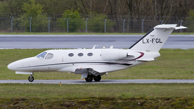 A picture of LXFGL - Cessna 510 Citation Mustang - [5100132] - © Mike Moro