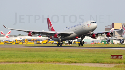 G-VSUN - Airbus A340-313 - Virgin Atlantic Airways