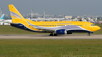F-GIXC - Boeing 737-38B(QC) - Europe Airpost