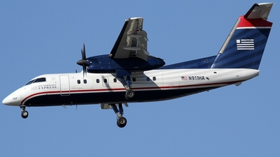 A picture of N911HA - De Havilland Canada Dash 8100 - [034] - © Kaz T